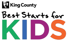 Logo for King County Best Starts for Kids